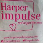 My goody bag. A bit crumpled - like me!