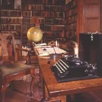 Rudyard Kipling and his writing sanctuary