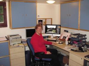 Alison Morton_office