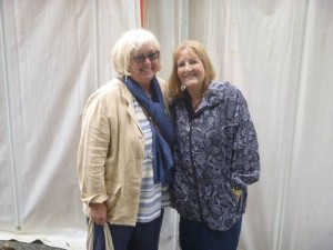 Yours truly with Marilyn Forsyth (c) Marilyn